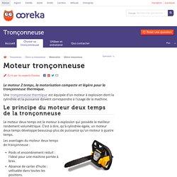 Moteur tronçonneuse : tout sur le moteur thermique de tronconneuse