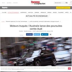 Moteurs truqués: l'Australie lance des poursuites contre Audi
