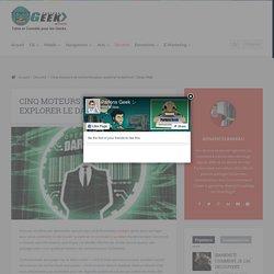 Cinq moteurs de recherche pour explorer le darknet