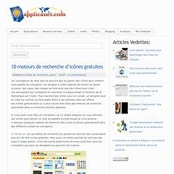 10 moteurs de recherche d'icônes gratuites