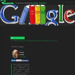 Les moteurs de recherche pour les ebooks et les PDF - Padagogie