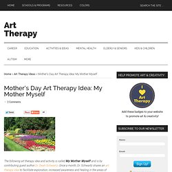 Mother's Day Art Therapy Idea: My Mother Myself