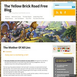 The Yellow Brick Road Free Blog