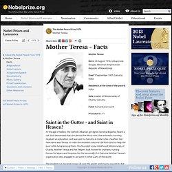 Mother Teresa - Biography