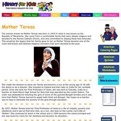 Mother Teresa - History for Kids