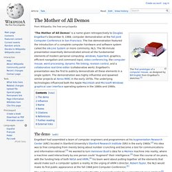 The Mother of All Demos