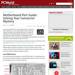 Motherboard Port Guide: Solving Your Connector Mystery