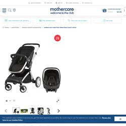 Mothercare Roam Four Wheel Base Pack- Silver