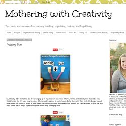 Mothering with Creativity: Adding Fun