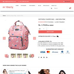 Fashion Diaper Bag Backpack