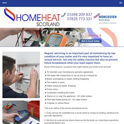 Boiler Services Motherwell, Breakdown & Replacement Lanark- HomeHeat