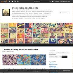 Le motif Paisley, boteh ou cachemire - atasi.india.mania.com