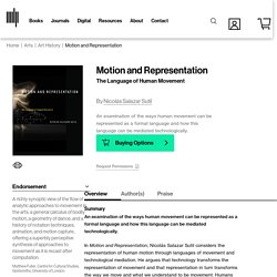 Motion and Representation