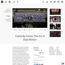 [AT] Frame By Frame: The Art of Stop Motion / The Documentary Network