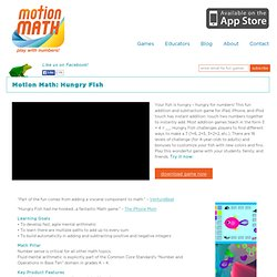 Motion Math: Hungry Fish | Motion Math