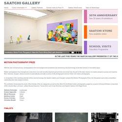 The Motion Photography Prize in Association with Google+