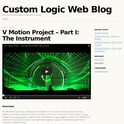 V Motion Project – Part I: The Instrument