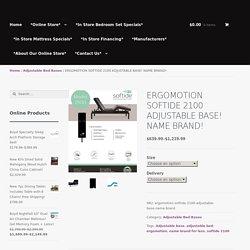 Ergo Motion Softside Adjustable Bed Base - Rest for Less