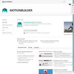 MotionBuilder 2016