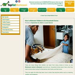 How to Motivate Children to Do Household Chores