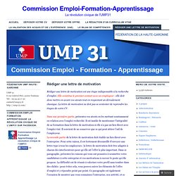 Commission Emploi-Formation-Apprentissage