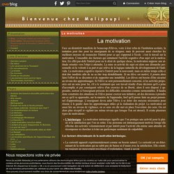 La motivation - Le blog de malipoupi.over-blog.com