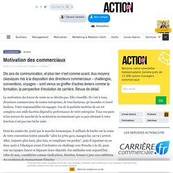 Motivation des commerciaux
