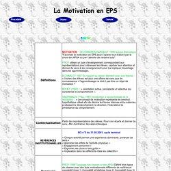 Motivation en EPS