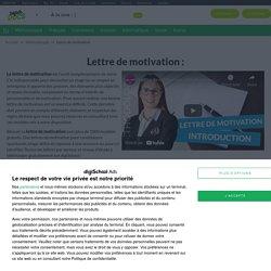 Lettre de Motivation : 1000 Modèles Gratuits de Lettres
