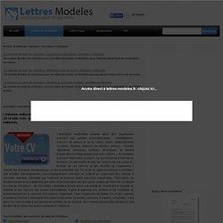 Modèle et exemple de lettre de motivation : Animateur multimédia
