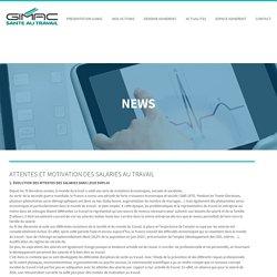 ATTENTES ET MOTIVATION DES SALARIES AU TRAVAIL - GIMAC Santé au travailGIMAC Santé au travail