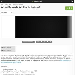Upbeat Corporate Uplifting Motivational by LumenMedia