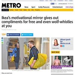 Miroir interactif IKEA
