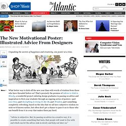 The New Motivational Poster: Illustrated Advice From Designers - Atlantic Mobile