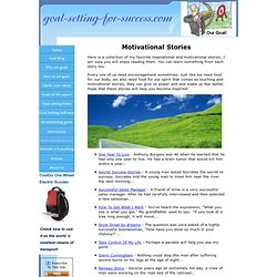 Motivational Stories - Read Inspirational Stories