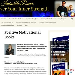 Positive Motivational Books - Success, Motivation & Personal Growth, Books