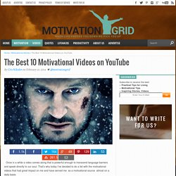 The Best 10 Motivational Videos For 2013 - MotivationGrid