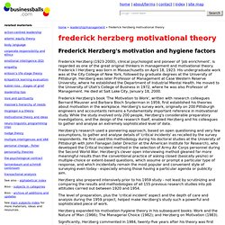 frederick herzberg motivational theory, motivators and hygiene factors, free herzberg diagrams