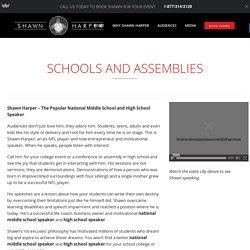 High school speaker for Annual Function