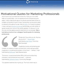 Motivational Quotes for Marketing Professionals ‹ Cleveland Marketing Agency