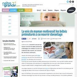 La voix de maman motiverait les bébés prématurés à se nourrir davantage