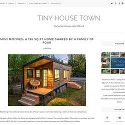 Mini Motives: a 196 Sq Ft Home Shared By A Family of Four - TINY HOUSE TOWN