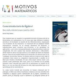 Motivos matemáticos / Reseña de libros