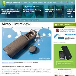 Moto Hint review