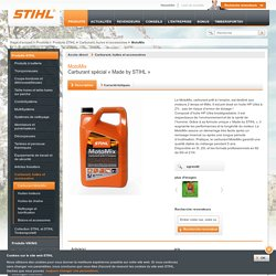 MotoMix - Carburant spécial « Made by STIHL »