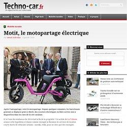 Motit, le motopartage électrique