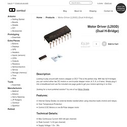 L293D Motor Driver IC from