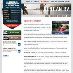 Motor homes - America's Top 10 RV Road Trips