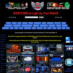 Custom Dynamics Motorcycle LED Lights Motorcycle LEDs Lighting Accessories