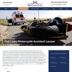 Oak Lawn Motorcycle Accident Lawyer